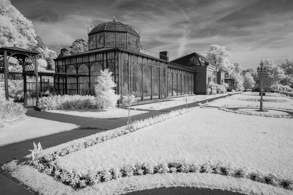 Gewächshaus im maurischen Garten Wilhelma Stuttgart