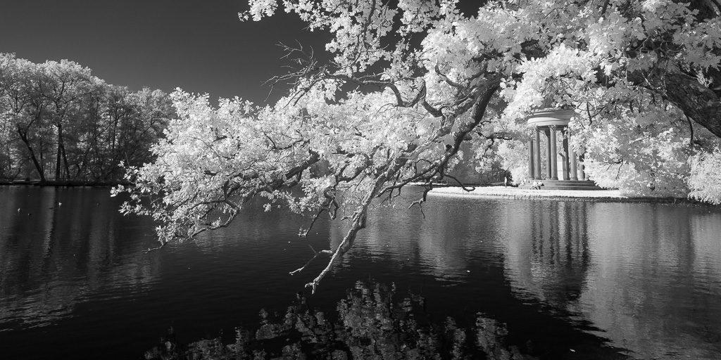 Schlosspark Nymphenburg München - Infrarotfotografie