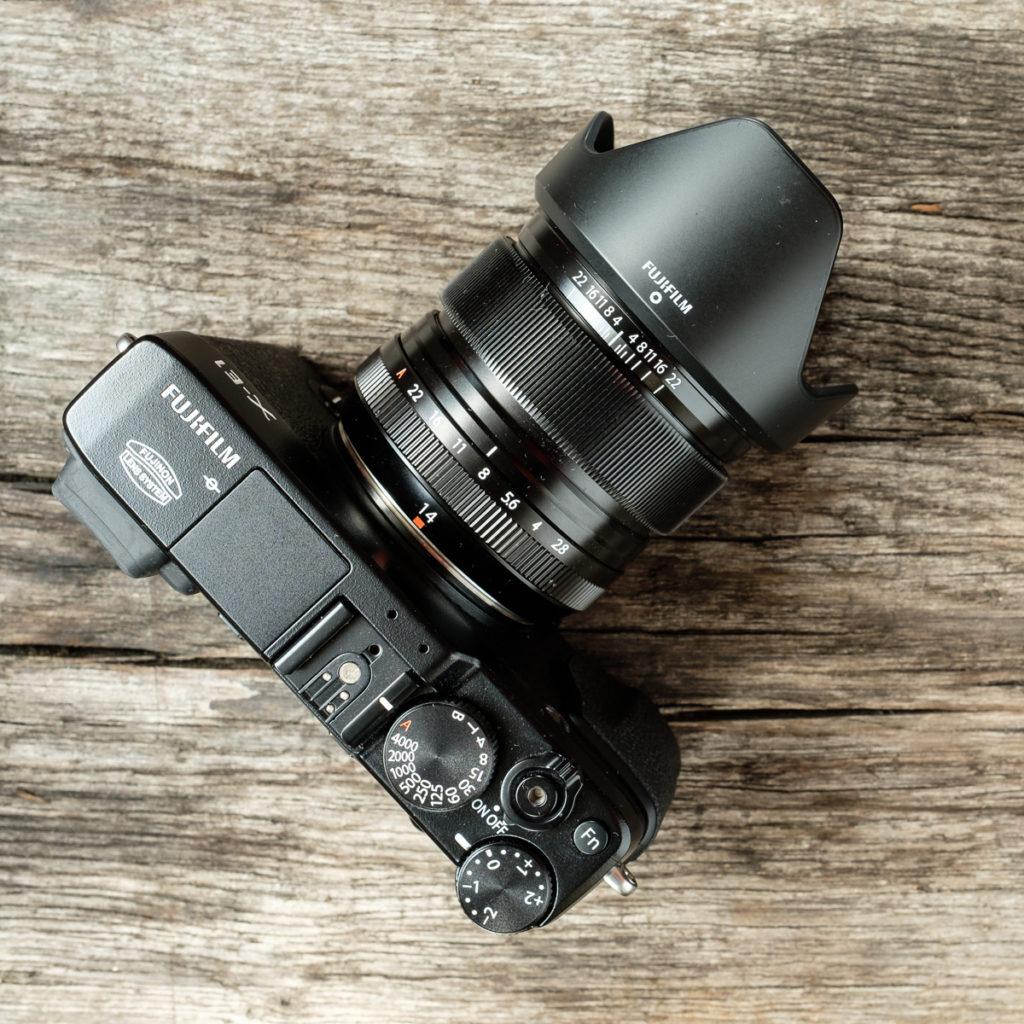 Fujifilm X-E1 Kamera Infrarotumbau 830 nm
